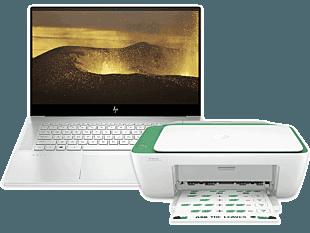 HP ENVY Laptop 15-ep0016TX bundle with HP DeskJet Ink Advantage 2337 All-in-One Printer