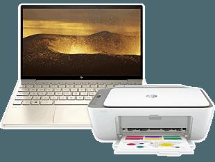HP ENVY Laptop 13-ba1031TX bundle with HP DeskJet Ink Advantage 2775 All-in-One Printer