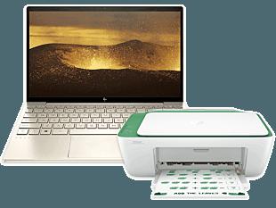 HP ENVY Laptop 13-ba1032TX bundle with HP DeskJet Ink Advantage 2337 All-in-One Printer
