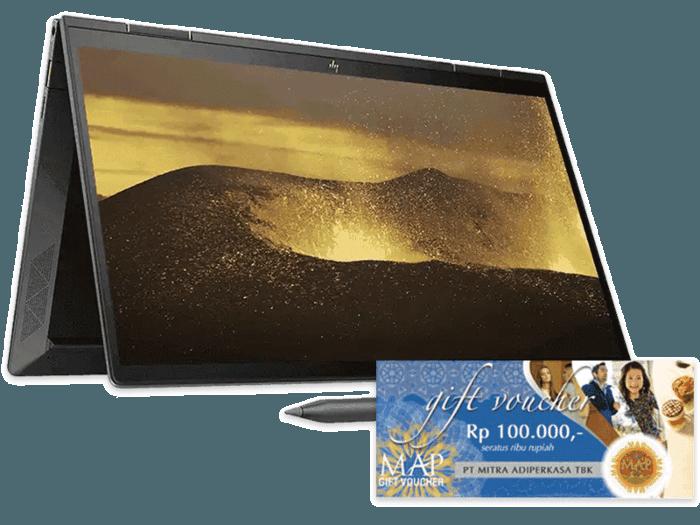HP ENVY x360 Laptop - 13-ay0006au with free MAP Voucher