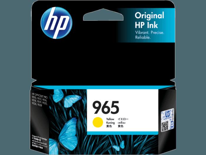 HP 965 Yellow Original Ink Cartridge