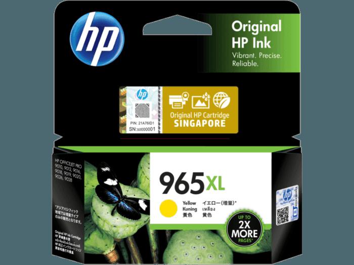 HP 965XL High Yield Yellow Original Ink Cartridge