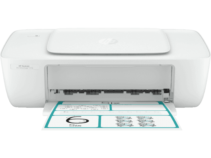 HP DeskJet Ink Advantage 1216 Printer