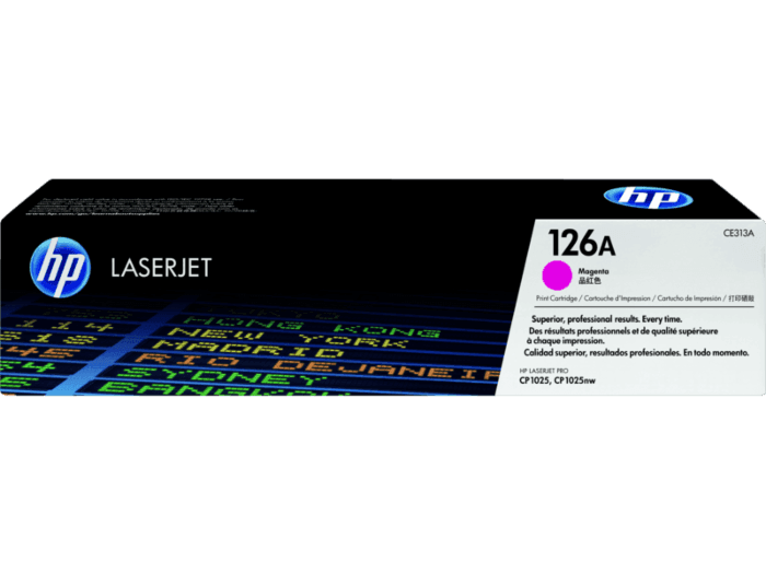 HP 126A Magenta Original LaserJet Toner Cartridge