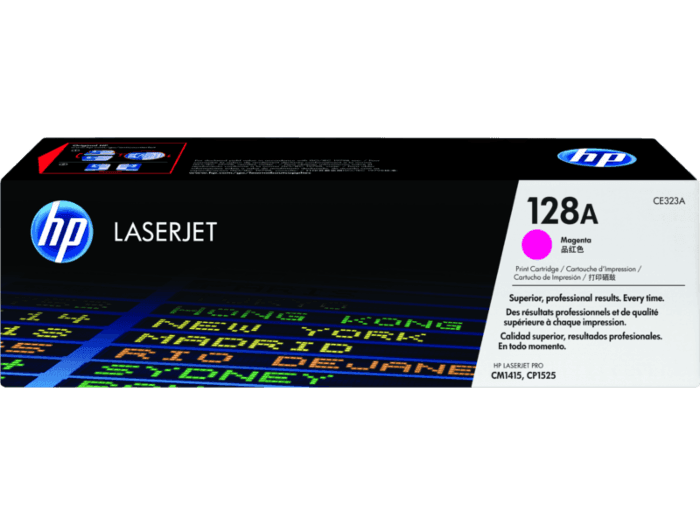 HP 128A Magenta Original LaserJet Toner Cartridge