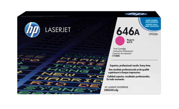 HP 646A Magenta Original LaserJet Toner Cartridge