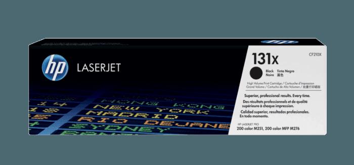 3 PK CF210X 131X Black Toner For HP LaserJet Pro 200 Color M251 M276 High Yield
