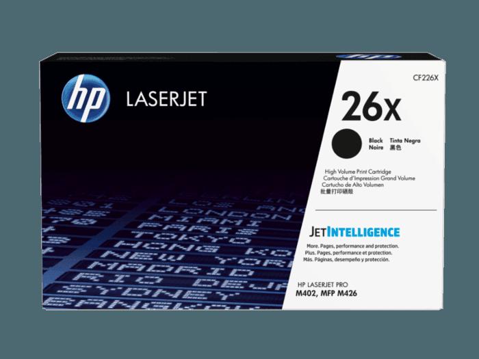HP 26X High Yield Black Original LaserJet Toner Cartridge