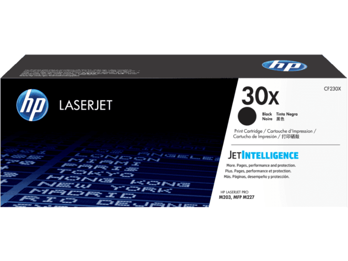 HP 30X High Yield Black Original LaserJet Toner Cartridge