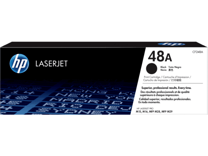 HP 48A Black Original LaserJet Toner Cartridge