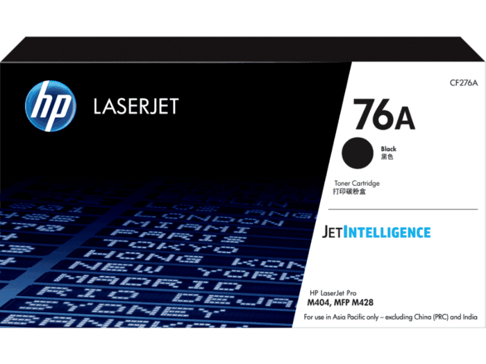 HP 76A Black Original LaserJet Toner Cartridge