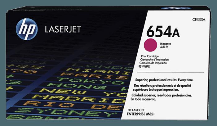 HP 654A Magenta Original LaserJet Toner Cartridge