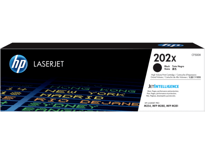 HP 202X High Yield Black Original LaserJet Toner Cartridge