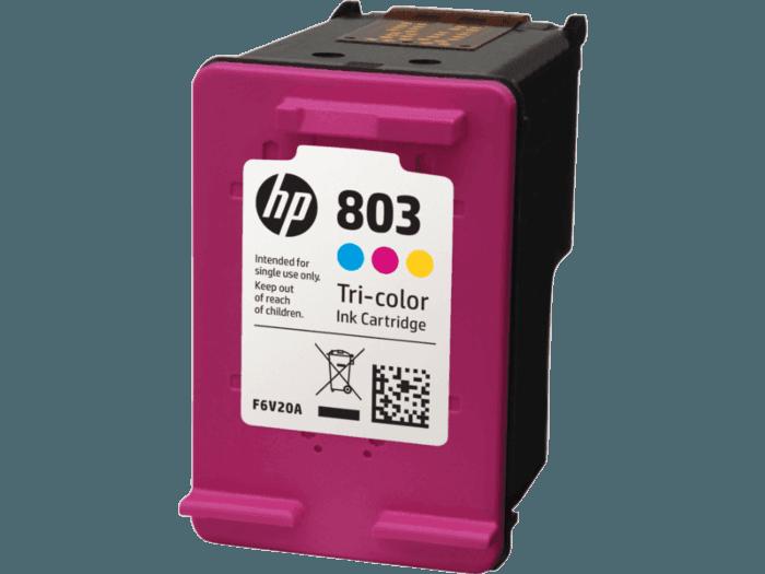 Hp 803 Tri Color Original Ink Cartridge Hp Store Indonesia