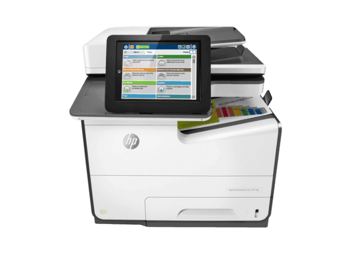 HP PageWide Enterprise Color MFP 586dn