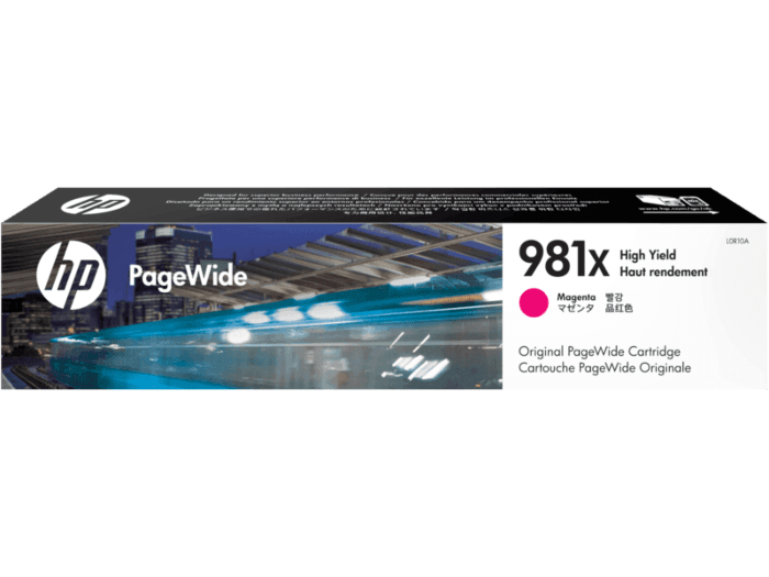 HP 981X High Yield Magenta Original PageWide Cartridge