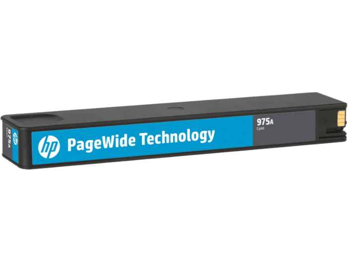 HP 975A Cyan Original PageWide Cartridge