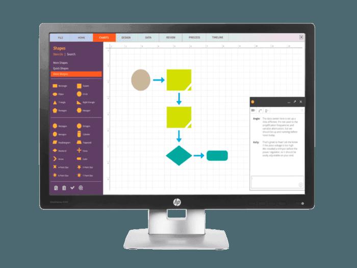 HP EliteDisplay E242 24-inch Monitor
