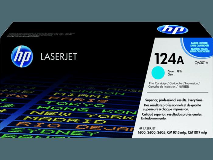 HP 124A Cyan Original LaserJet Toner Cartridge