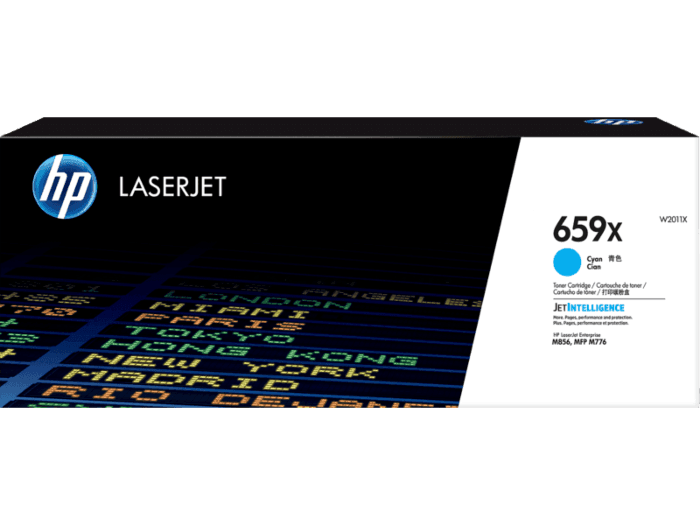 HP 659X High Yield Cyan Original LaserJet Toner Cartridge