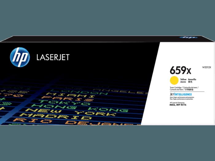 HP 659X High Yield Yellow Original LaserJet Toner Cartridge