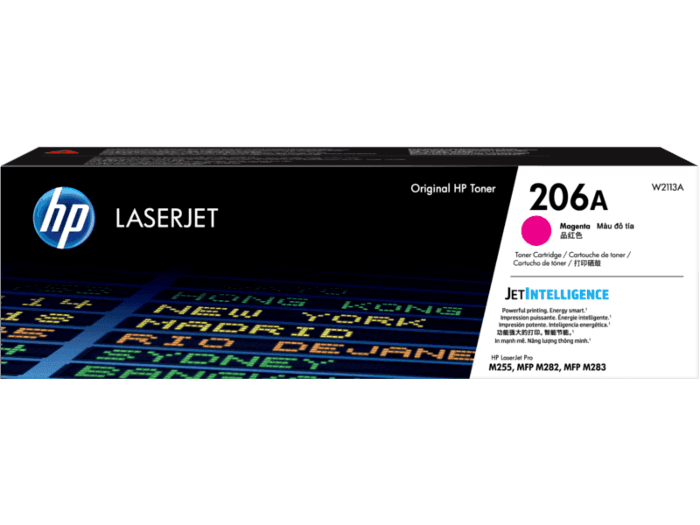 HP 206A Magenta Original LaserJet Toner Cartridge