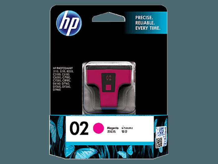 HP 02 Magenta Original Ink Cartridge