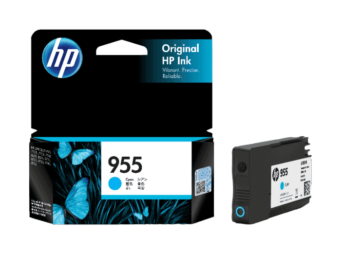 HP 955 Cyan Original Ink Cartridge