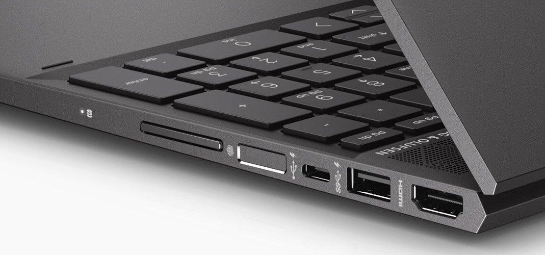 Envy x360 HP fingerprint reader login tanpa password