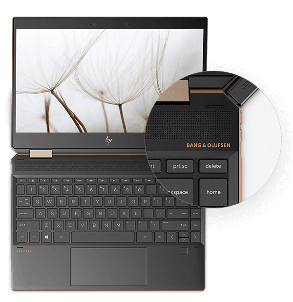 Audio by Bang & Olufsen