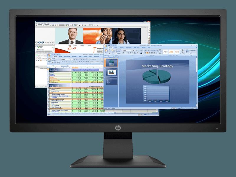 Monitor HP untuk PC Rumah dan Bisnis | HP Online Store