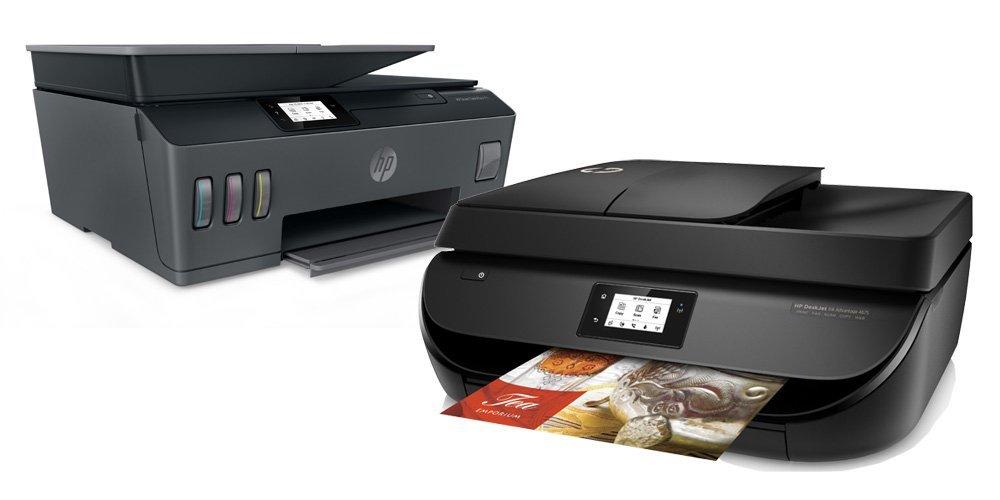 Printer HP Inkjet dan LaserJet untuk penggunaan di rumah dan kantor