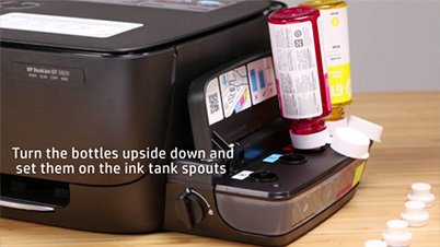 How to set-up the HP Ink Tank System